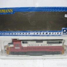 Trenes Escala: BACHMANN REF: 60337 - LOCOMOTORA DIESEL AMERICANA 3798 WESTERN MARYLAND CORRIENTE CONTINUA. Lote 115705243