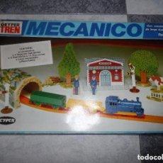 Trenes Escala: TREN MECANICO DE LA CASA GEYPER AÑOS 70-80. Lote 116630523