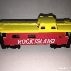 Trenes Escala: VAGON ROCK ISLAND DE TREN TYCO H0. Lote 117970539