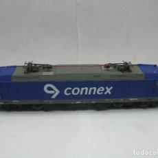Trenes Escala: PIKO - LOCOMOTORA ELÉCTRICA CONNEX 185 516-2 CORRIENTE CONTINUA - ESCALA H0. Lote 179144723