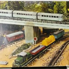 Trenes Escala: TREN JYESA HO REF. 1946 FERROCARIL ELECTRICO A PILAS. Lote 118582627