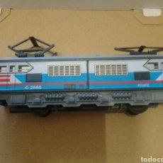 Trenes Escala: LOCOMOTORA TRANVIA - TREN SEINSA AZUL. Lote 162760370