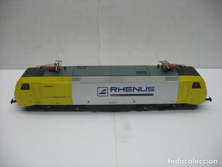 LIMA - LOCOMOTORA ELÉCTRICA SIEMENS RHENUS 152 902-3 CORRIENTE CONTINUA - ESCALA H0 (Juguetes - Trenes Escala H0 - Otros Trenes Escala H0)