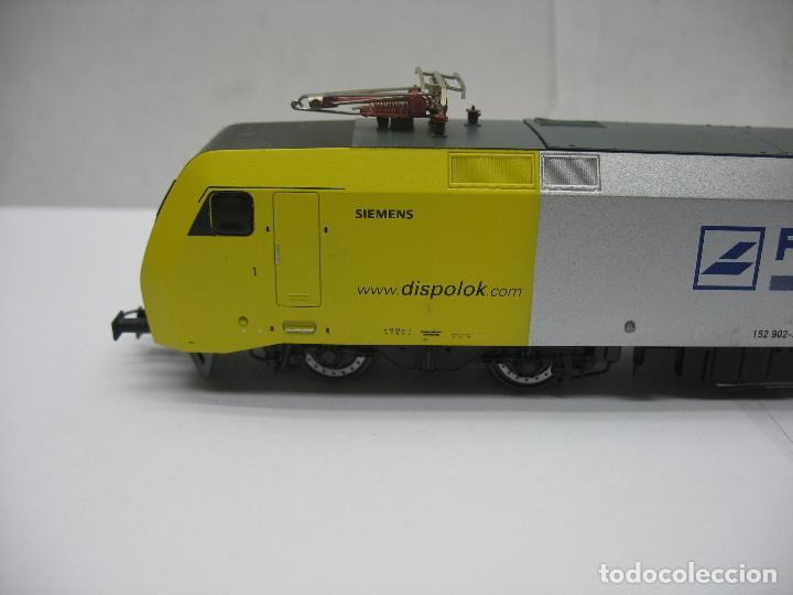 Trenes Escala: Lima - Locomotora eléctrica SIEMENS RHENUS 152 902-3 corriente continua - Escala H0 - Foto 7 - 221690725