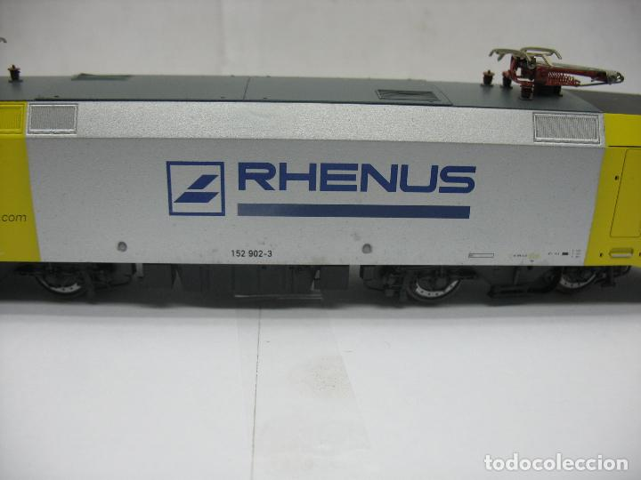 Trenes Escala: Lima - Locomotora eléctrica SIEMENS RHENUS 152 902-3 corriente continua - Escala H0 - Foto 8 - 221690725
