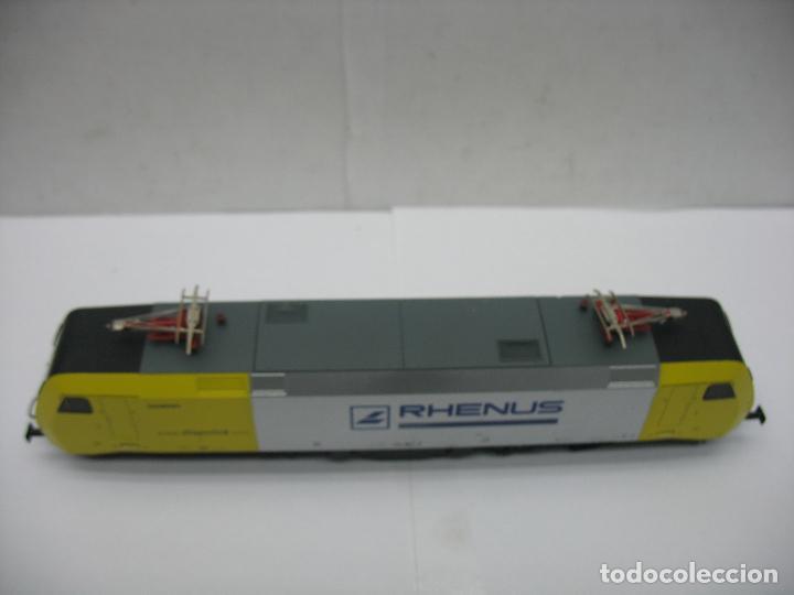 Trenes Escala: Lima - Locomotora eléctrica SIEMENS RHENUS 152 902-3 corriente continua - Escala H0 - Foto 3 - 221690725