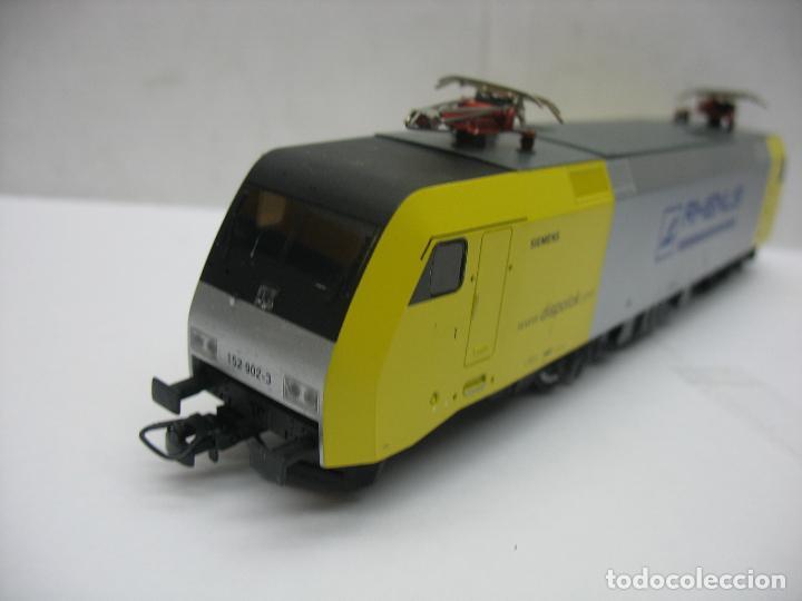 Trenes Escala: Lima - Locomotora eléctrica SIEMENS RHENUS 152 902-3 corriente continua - Escala H0 - Foto 4 - 221690725