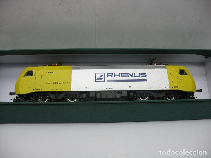 Trenes Escala: Lima - Locomotora eléctrica SIEMENS RHENUS 152 902-3 corriente continua - Escala H0 - Foto 6 - 221690725