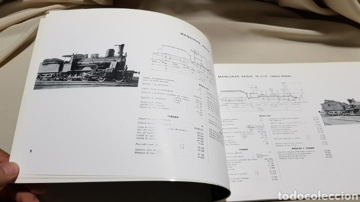 Trenes Escala: Caminos de hierro del norte . Album de locomotoras 1909 maf . 1992 - Foto 3 - 119032454
