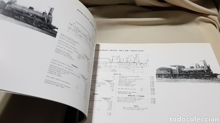Trenes Escala: Caminos de hierro del norte . Album de locomotoras 1909 maf . 1992 - Foto 4 - 119032454