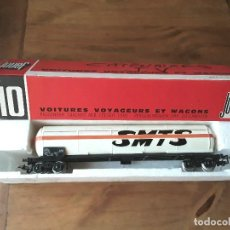 Trenes Escala: JOUEF VAGÓN CISTERNA SMTS , EN CAJA. Lote 119523275