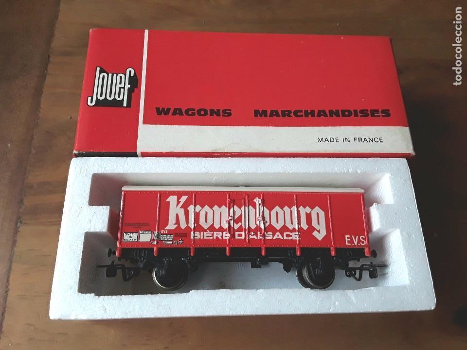 JOUEF VAGÓN KRONENBOURG, EN CAJA (Juguetes - Trenes Escala H0 - Otros Trenes Escala H0)