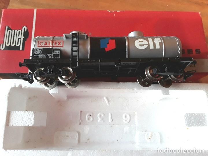 Trenes Escala: Jouef vagón elf, en caja - Foto 2 - 119545823