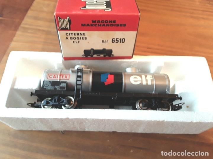 Trenes Escala: Jouef vagón elf, en caja - Foto 4 - 119545823