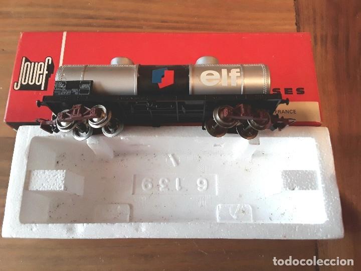 Trenes Escala: Jouef vagón elf, en caja. - Foto 2 - 119547103