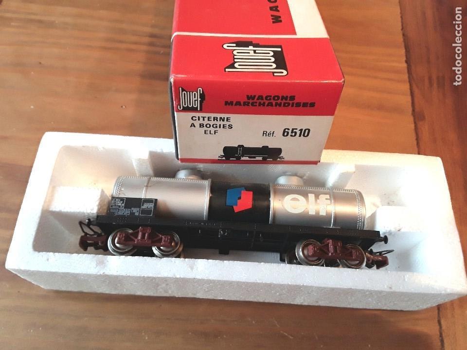 Trenes Escala: Jouef vagón elf, en caja. - Foto 4 - 119547103