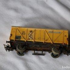 Trenes Escala - Vagón amarillo - 119948811