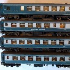 """Trenes Escala: WRENN S301S, S302S Y S308S CONJUNTO VAGONES DE PASAJEROS """"PULLMAN"""". Lote 120087923"""