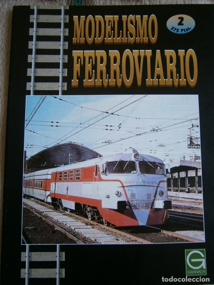 Trenes Escala: MODELISMO FERROVIARIO, 8 FASCÍCULOS, EDICIONES GRANADA, 1993. - Foto 2 - 120388663