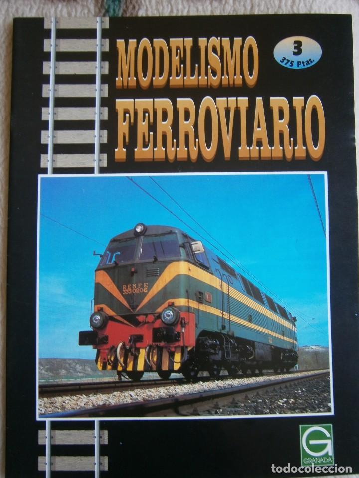 Trenes Escala: MODELISMO FERROVIARIO, 8 FASCÍCULOS, EDICIONES GRANADA, 1993. - Foto 3 - 120388663