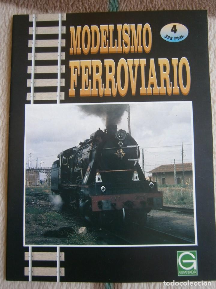 Trenes Escala: MODELISMO FERROVIARIO, 8 FASCÍCULOS, EDICIONES GRANADA, 1993. - Foto 4 - 120388663