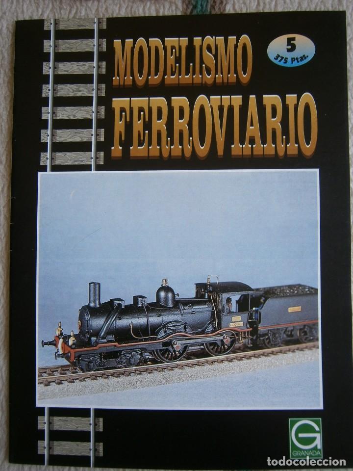 Trenes Escala: MODELISMO FERROVIARIO, 8 FASCÍCULOS, EDICIONES GRANADA, 1993. - Foto 5 - 120388663