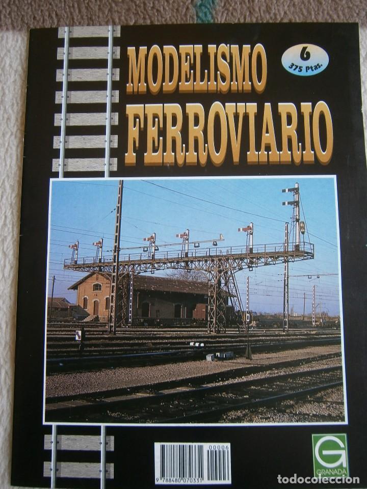 Trenes Escala: MODELISMO FERROVIARIO, 8 FASCÍCULOS, EDICIONES GRANADA, 1993. - Foto 6 - 120388663
