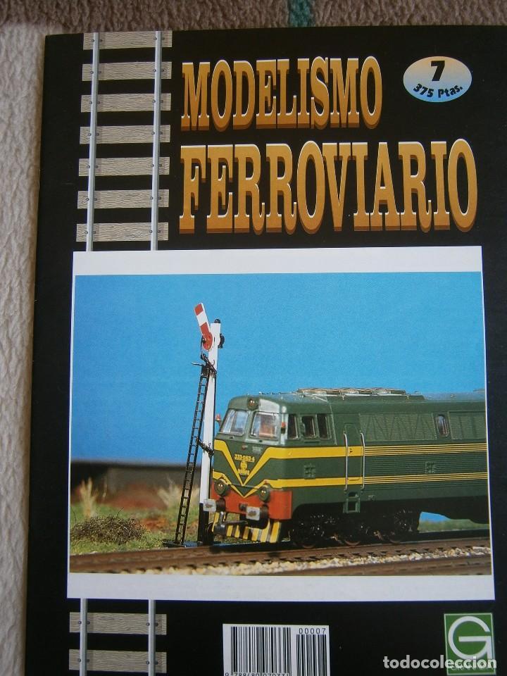 Trenes Escala: MODELISMO FERROVIARIO, 8 FASCÍCULOS, EDICIONES GRANADA, 1993. - Foto 7 - 120388663