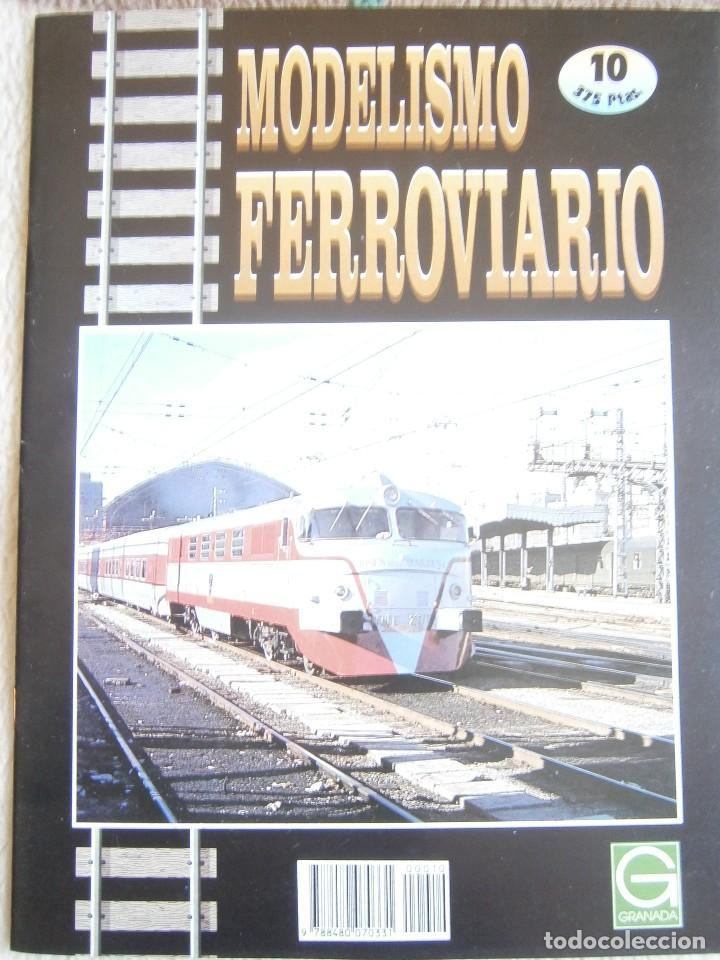 Trenes Escala: MODELISMO FERROVIARIO, 8 FASCÍCULOS, EDICIONES GRANADA, 1993. - Foto 9 - 120388663