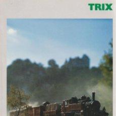 Trenes Escala: CATÁLOGO TRIX ESCALA N/H0 1997/1998 EDICIÓN FRANCESA. Lote 120430035