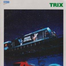 Trenes Escala: CATÁLOGO TRIX ESCALA N/H0 1998/1999 EDICIÓN FRANCESA. Lote 120430415