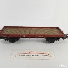 Trenes Escala: DESPIECE VAGON ABIERTO BORDE BAJO ESCALA H0 DEFECTUOSO. Lote 121233611