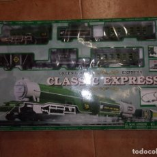 Trenes Escala: TREN GREEN LINE EXPRESS - CLASSIC EXPRESS.. Lote 121519883