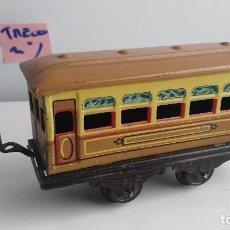 Trenes Escala: ANTIGUO VAGON DE TREN ESCALA 0 PAYA O RICO . Lote 121735751