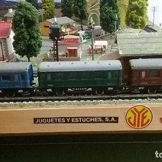 Trenes Escala: COMPOSICION VAGONES PASAJEROS JYESA I II Y III SERIE 1600.. Lote 122234767