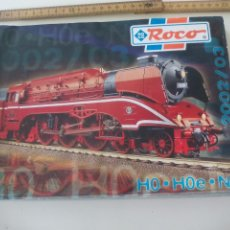 Comboios Escala: CATÁLOGO ROCO 2002/03 433 PÁGINAS. E 80202. TRENES, MODELISMO, TREN, LOCOMOTORAS, H0 H0E,N. Lote 122535819