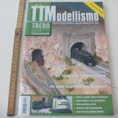 Comboios Escala: Nº 51 TTMODELLISMO TUTTO MODELISMO FERROVIARIO, REVISTA DE TRENES TREN, LOCOMOTORAS, H0 . Lote 122537315