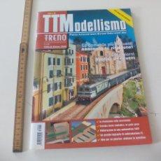 Comboios Escala: Nº 48 TTMODELLISMO TUTTO MODELISMO FERROVIARIO, REVISTA DE TRENES TREN, LOCOMOTORAS, H0 . Lote 122537455