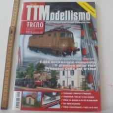 Comboios Escala: Nº 43 TTMODELLISMO TUTTO TRENO MODELISMO FERROVIARIO, REVISTA DE TRENES TREN, LOCOMOTORAS, H0 . Lote 122537703