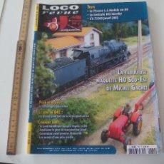 Trenes Escala: LOCO REVUE Nº 730. MAI 2008 REVISTA MODELISMO FERROVIARIO. MAQUETISMO, TRENES TREN MINIATURA,. Lote 122540139