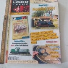 Trenes Escala: LOCO REVUE Nº 683, JUIN 2004 REVISTA MODELISMO FERROVIARIO. MAQUETISMO, TRENES TREN MINIATURA,. Lote 122540459