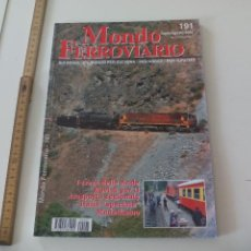 Trenes Escala: MONDO FERROVIARIO Nº 191 MODELISMO FERROVIARIO, REVISTA DE TRENES TREN MINITURA LOCOMOTORAS. Lote 122541271