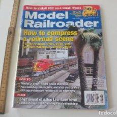 Trenes Escala: MODEL RAILROADER. JUNE 2008 REVISTA DE TRENES, MODELISMO FERROVIARIO TREN LOCOMOTORAS. Lote 122542255