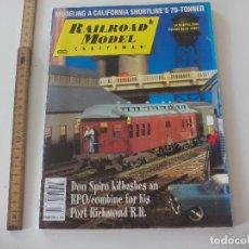 Trenes Escala: RAILROAD MODEL CRAFTSMAN. APRIL 2004 REVISTA DE TRENES, MODELISMO FERROVIARIO TREN LOCOMOTORAS. Lote 122542751