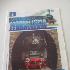 Trenes Escala: NOUVA ENCICLOPEDIA DI MODELLISMO FERROVIARIO, FASCICULO 1 TRENES MODELISMO FERROVIARIO TREN. Lote 122544563