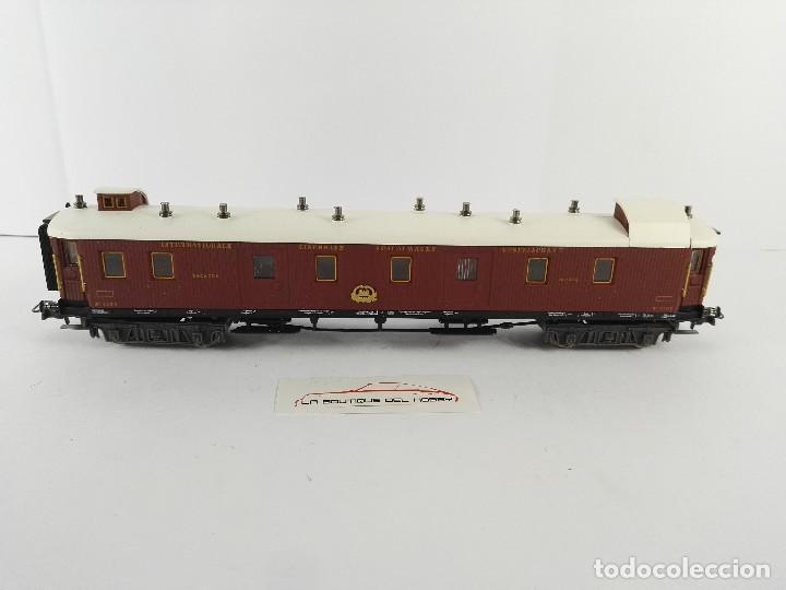Trenes Escala: VAGON FURGON DE EQUIPAJES 1203 ORIENT EXPRESS ALTAYA ESCALA H0 - Foto 4 - 134375622
