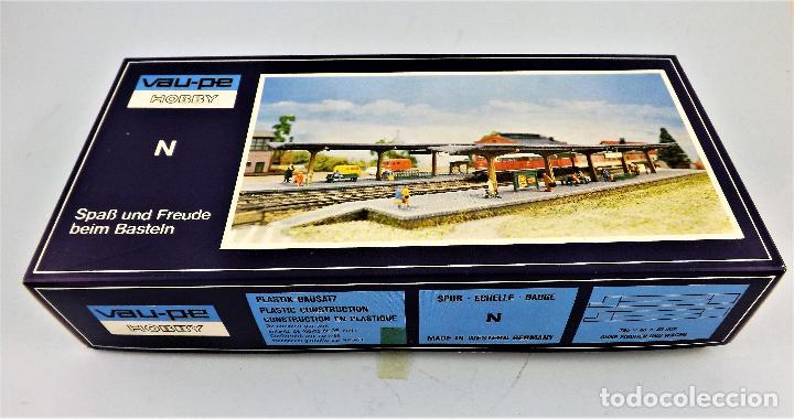 CONSTRUCCIÓN FERROVIARIA ANDENES DE ESTACIÓN CONSTRUCCIONES DE VAUPE (Juguetes - Trenes - Varios)