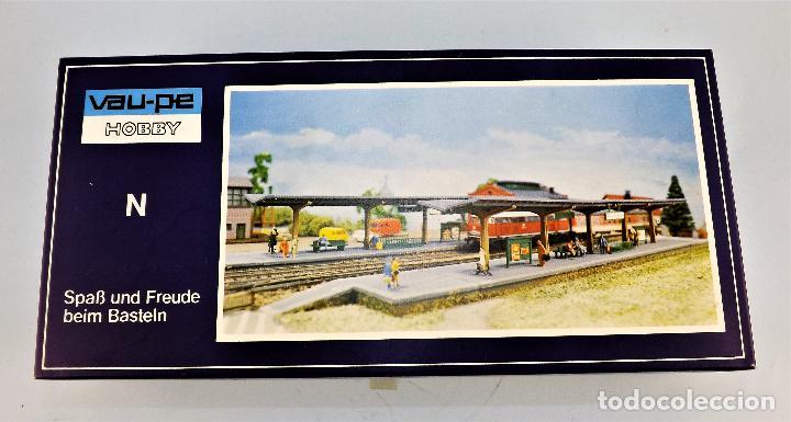 Trenes Escala: Construcción Ferroviaria Andenes de estación construcciones de Vaupe - Foto 2 - 124407851