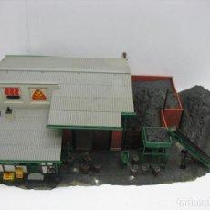 Trenes Escala: KIBRI - ALMACÉN CARBONERA CARBÓN ACCESORIOS PARA MAQUETA - ESCALA H0 . Lote 124631083