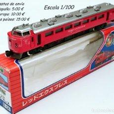 Trenes Escala: DIAPET YONEZAWA LINER R-06 1995 LOCOMOTORA RED EXPRESS - DIECAST. Lote 93631295
